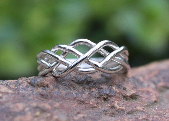 puzzle ring celtic knot 925 sterling silver turkish wedding ring affordable engagement ring