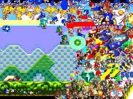 Sonic scene creator 4 jeux de pou pinterest jeux de - Jeux super sonic gratuit ...