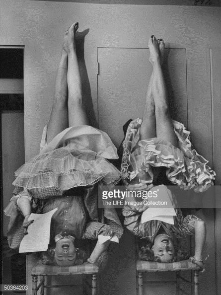 Actresses Audrey Meadows And Her Sister Jayne Meadows -5981