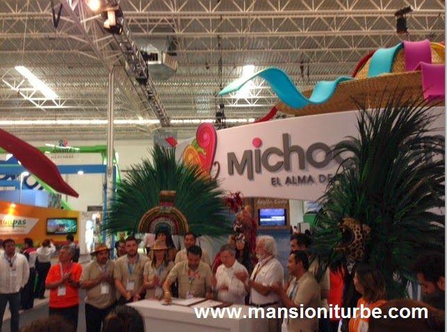 Michoacán en el Tianguis Turístico de México 2014 en Cancún