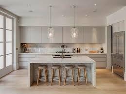 Image result for large modern pendant lights for above peninsula kitchen unit