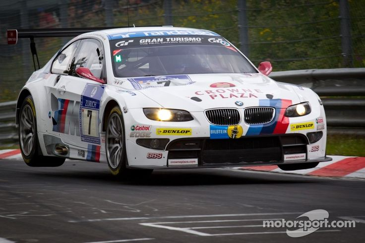 #7 BMW Motorsport BMW M3GT - All four off.