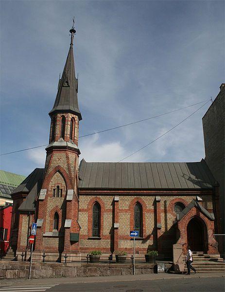 22 June: konečně jsem se dostala v neděli do kostela - St Edmund's Anglican church