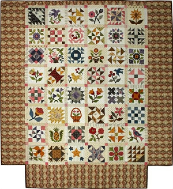 Mrs Lincoln S Sampler Quilt Pattern Quilts Quilts