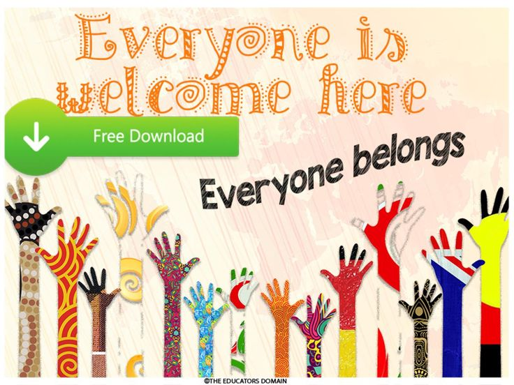 Programming and Planning Resources for Early Childhood Educators - Free Harmony Day Posters