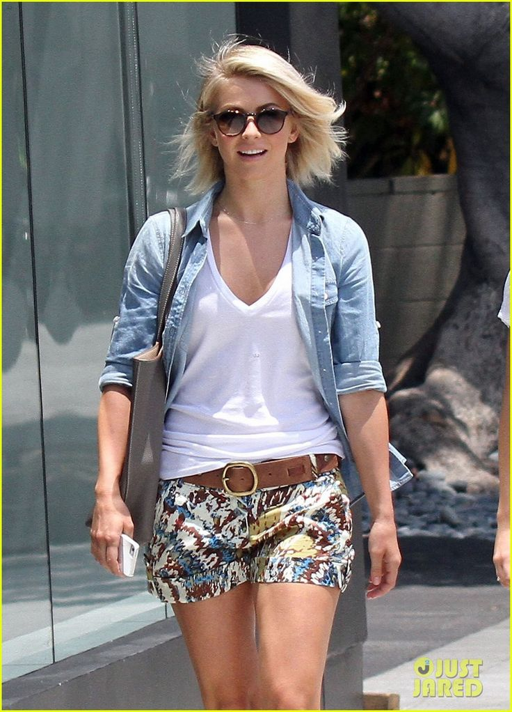Julianne Hough In Shorts May 2017