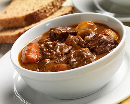 I want to make more Hungarian meals for my family -- like this beef goulash. :)