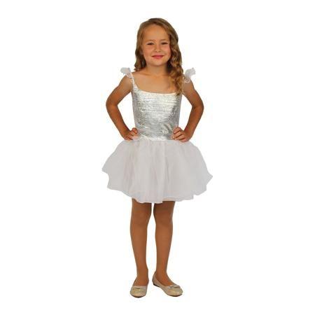 """Вестифика Карнавальный костюм для девочки """"Снежинка"""", Вестифика  — 949р.  Хрупкая и воздушная снежинка, сотканная из нежного кружева воды и мороза, вдохновила наших художников на создание карнавального костюмы Снежинка, предназначенного для празднования Новогоднего огонька в Детском саду. Костюм легкий и полупрозрачный, в нем девочка будет чувствовать себя сказочной красавицей. Широкая юбка красиво кружится, фатиновый подъюбник создает волшебный объем. Маленький белый сарафанчик выполнен из…"""