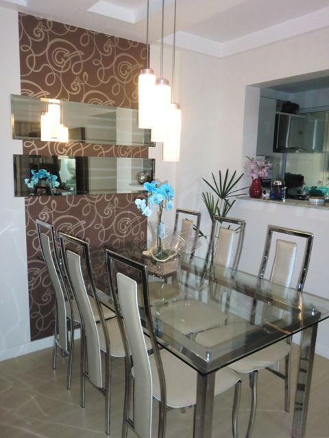 Sala decorada com cristaleira pesquisa google ideias - Mesas de sala modernas ...