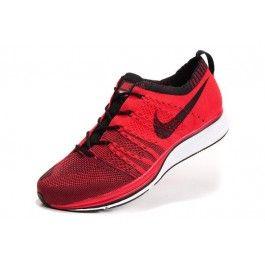 Nike Flyknit Trainer+ Unisex Rød Svart   Nike billige sko   kjøp Nike sko på nett   Nike online sko   ovostore.com