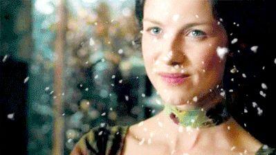 la preciosa Claire esposa de jaime fraser