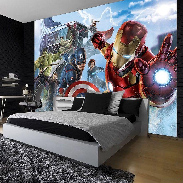 Marvel avengers wall mural wallpaper