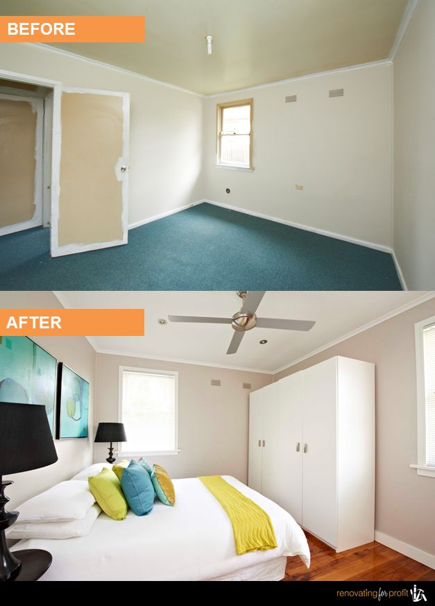 #Bedroom #Renovation See more exciting projects at: www.renovatingforprofit.com.au