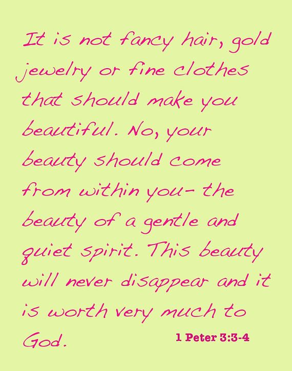 4a956a3336c6 Items similar to Canvas- Inspirational Beauty- Bible Quote on Etsy