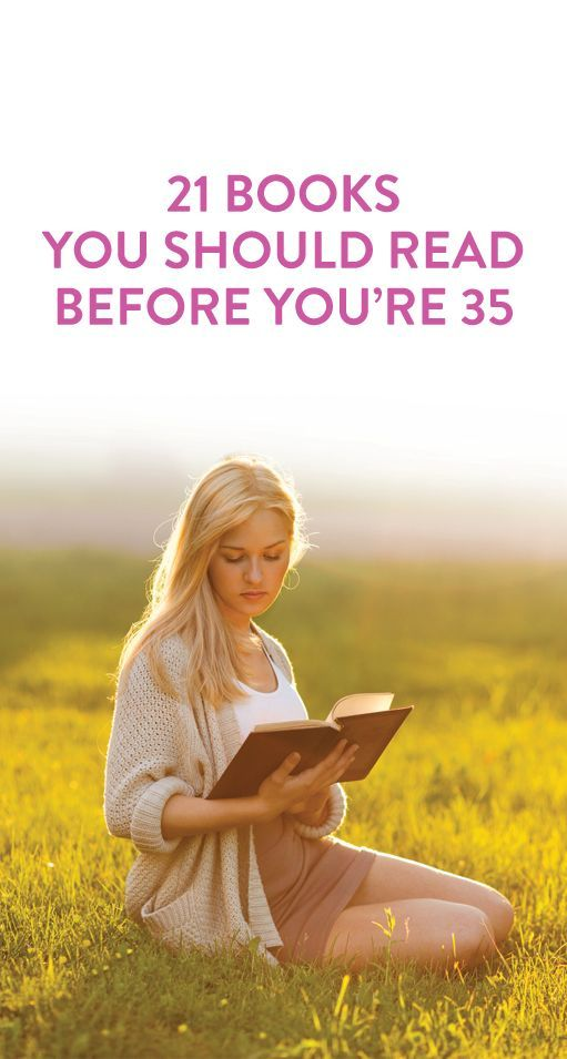 21 books to read before you are 35