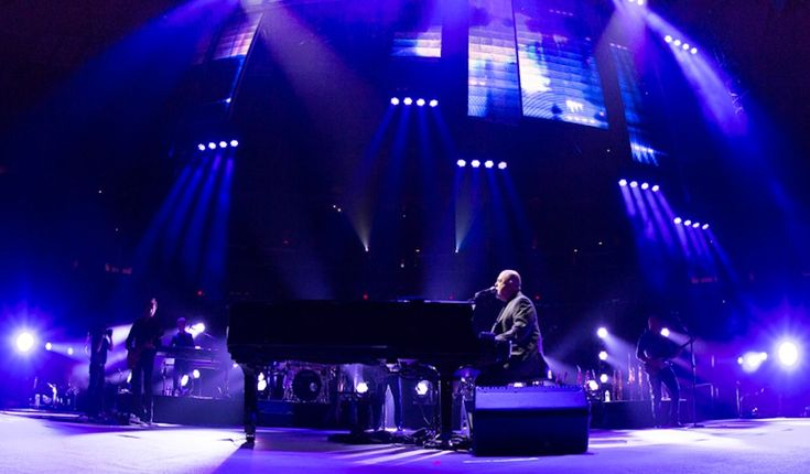 Hear the Piano Man play his hits at Toyota Center