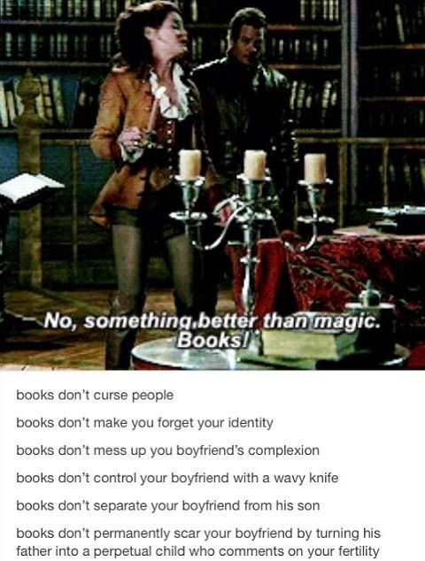 This entire post is perfect. I love Belle and her books. Books are amazing.