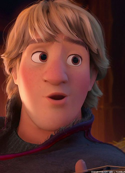 Disney Frozen Kristoff #DisneyFrozen- Reindeer are better then people!