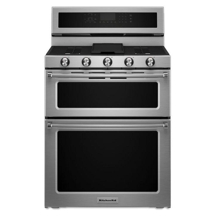 Kitchenaid 48in 7burner 41cu ft22cu ft double oven