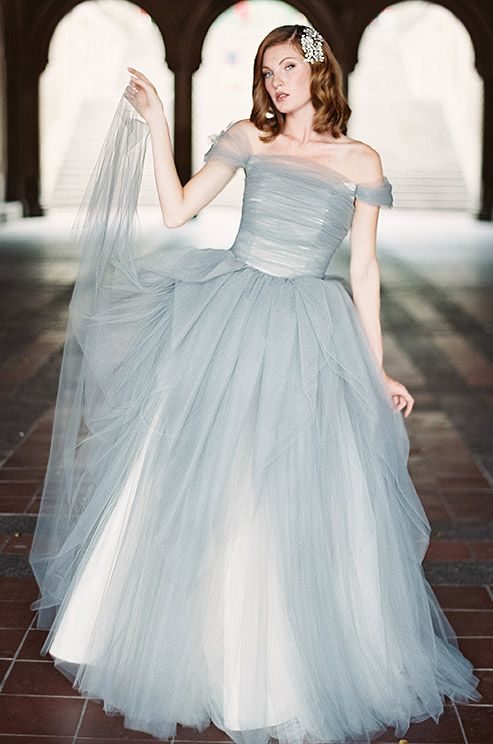 53 best Blue & green wedding dresses images on Pinterest | Wedding ...