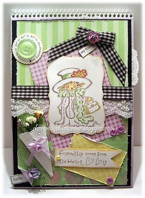 Sharon's Kardz Korner: Altered Notebook to share...