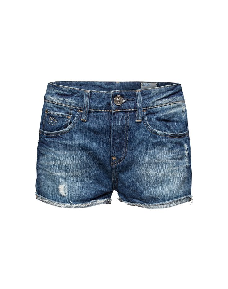 Kurze Hotpants von G-STAR RAW @ ABOUT YOU http://www.aboutyou.de/Denim-Hotpants-in-Used-Optik-3301-265635?utm_source=pinterest&utm_medium=social&utm_term=AY-Pin&utm_content=Jeans-Board&utm_campaign=2014-08-Endless-Summer2