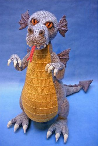 Ravelry: Devilish Dragon pattern by Alan Dart