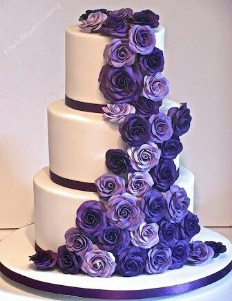 Ana's purple (inside) cake