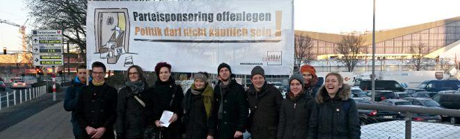 Die Schattenbereiche der Politik ausleuchten _LobbyControl vor dem CDU Parteitag