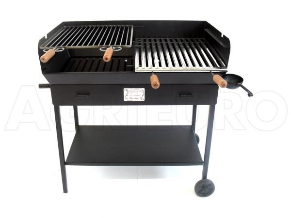 Barbecue a carbonelegna in lamiera pesante Cruccolini