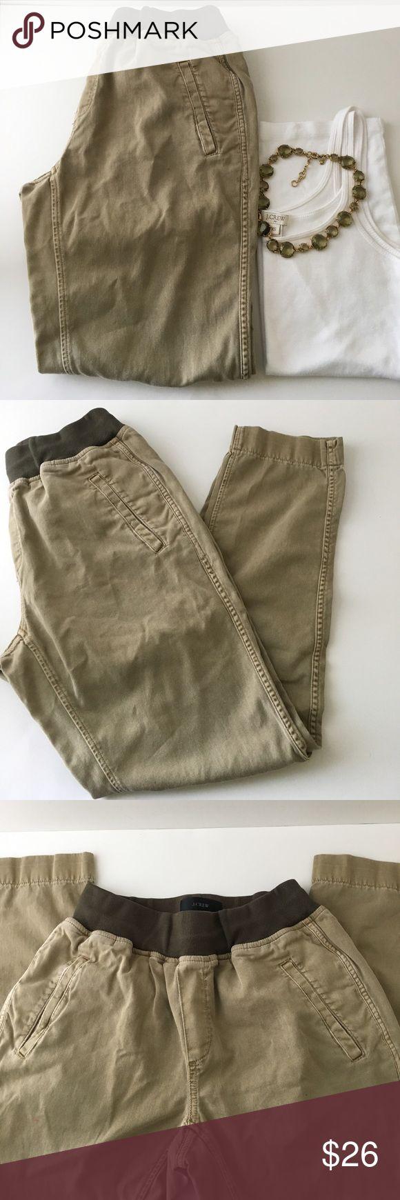 J crew kaki pants Kaki pants size 2 J. Crew Pants Straight Leg