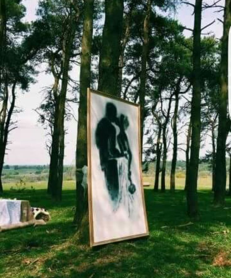 Wedding spray art