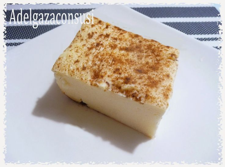 Adelgaza Con Susi - Recetas Light: Quesada pasiega light con tan solo 137kcal ración!