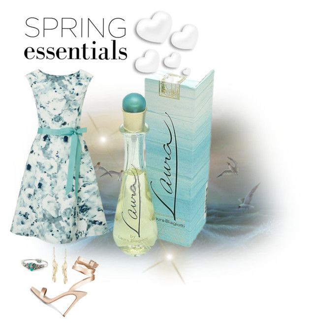 """""""Spring Perfume"""" by ljano ❤ liked on Polyvore featuring beauty, Forum, Laura Biagiotti, Jacques Vert, Ross-Simons, Sweet Romance and springperfume"""