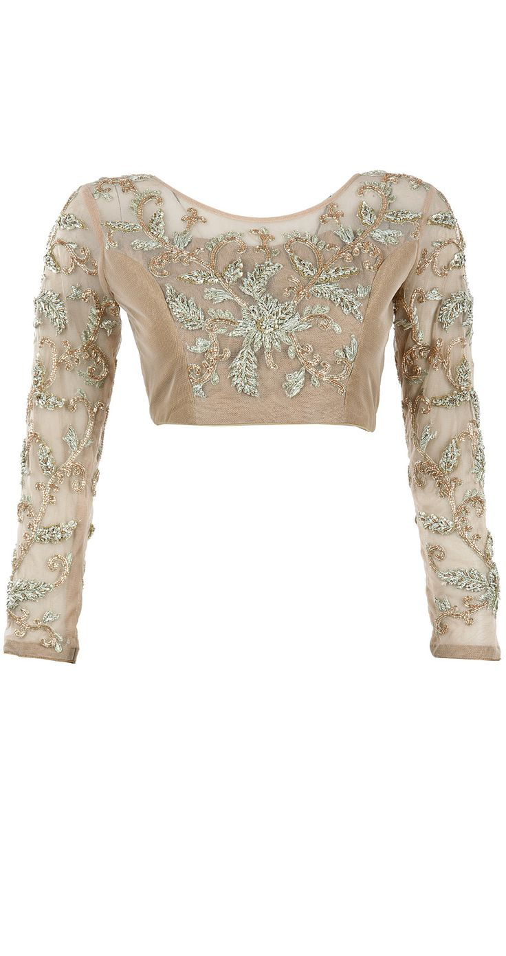 Sequinned gold blouse available at Pernia's Pop-Up Shop.