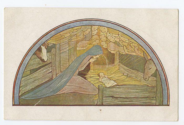 Rie Cramer - Noel 1920s Postcard
