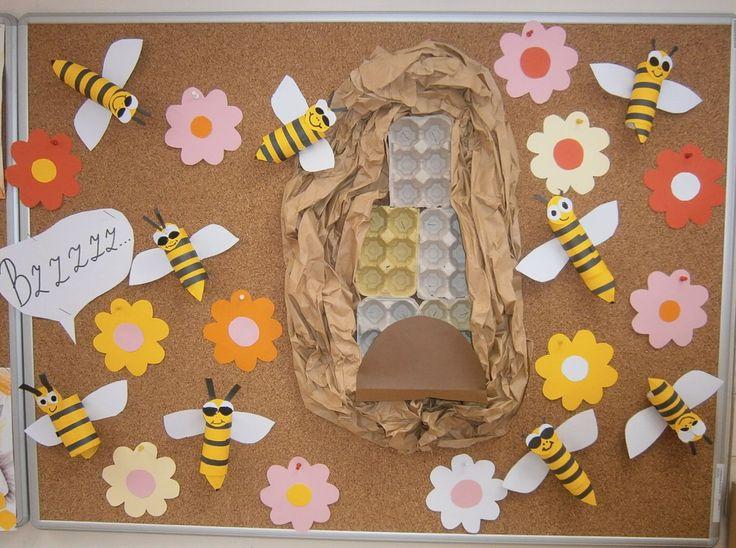 červen 2016 - včelky z ruliček