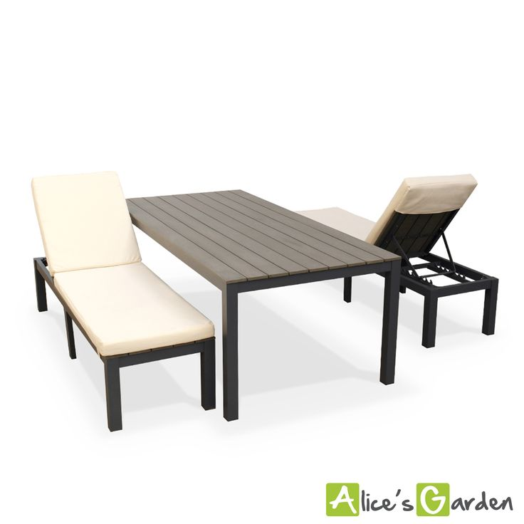 17 melhores ideias sobre salon de jardin aluminium no pinterest salon de jardin alu pergola. Black Bedroom Furniture Sets. Home Design Ideas