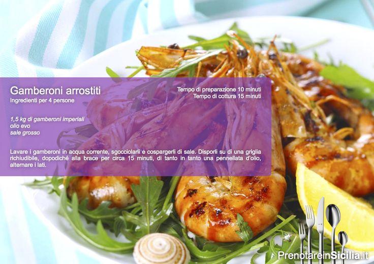 Questa Domenica Gamberoni arrostiti! https://www.prenotareinsicilia.it/ristoranti-in-sicilia.html?utm_content=bufferace1b&utm_medium=social&utm_source=pinterest.com&utm_campaign=buffer Buon appetito da PrenotareinSicilia.it