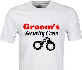 Tricou burlac Security