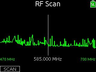 RF Scan LCD on 688. New firmware for 688/SL6 SuperSlot adds RF scanning