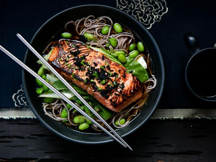 Salmon Recipe with Ginger and Soy - Try this fresh and quick to prepare dinner recipe