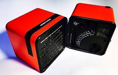 Radio Vintage Cubo BRIONVEGA  TS 505 ARANCIONE Design Marco Zanuso Anni '70 📻📻 | eBay