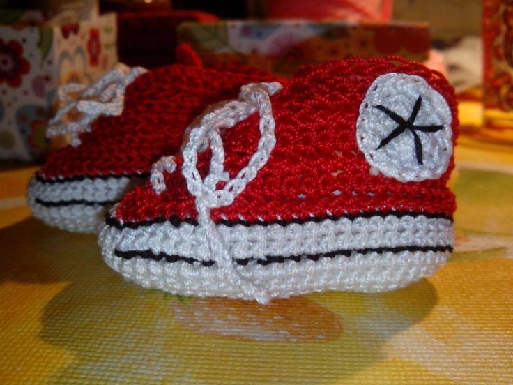 Patuconverse en rojo