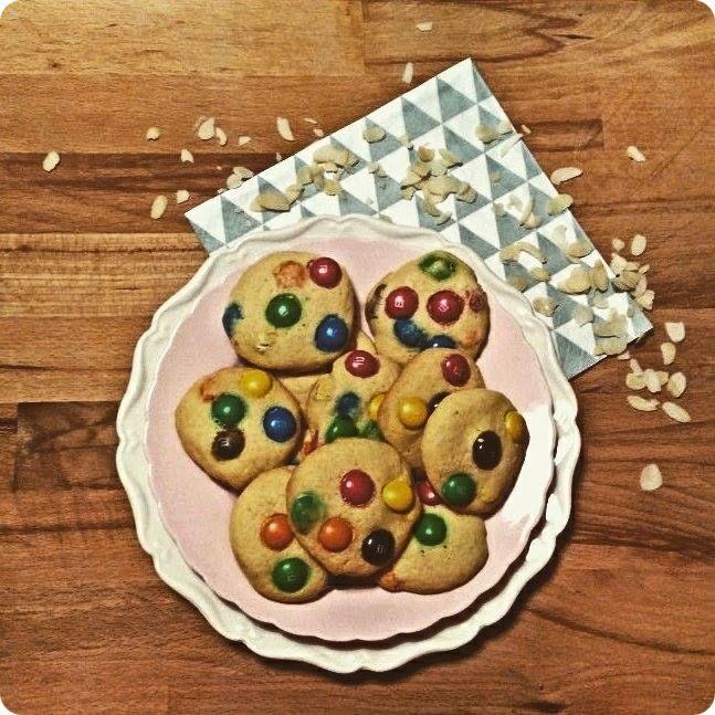 smarties koekjes.