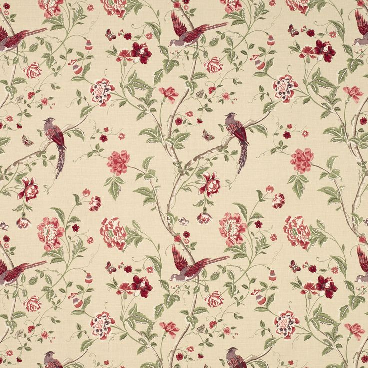 Summer Palace by Laura Ashley. Blind fabric for the Kitchen maybe