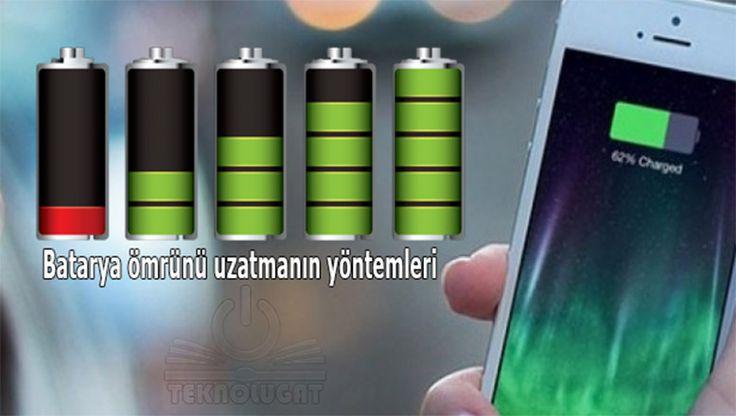 Batarya ömrünü uzatmanın yöntemleri