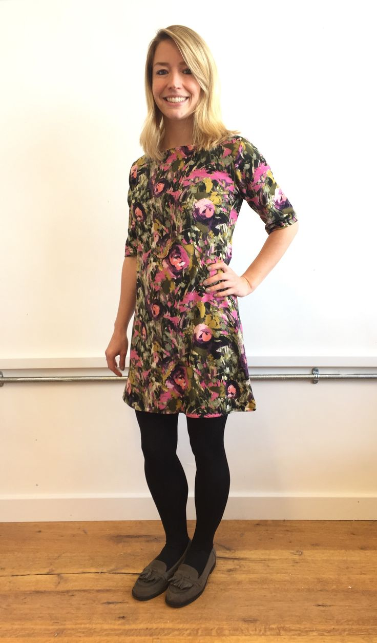 Joanne's Coco dress - sewing pattern from Tilly and the Buttons