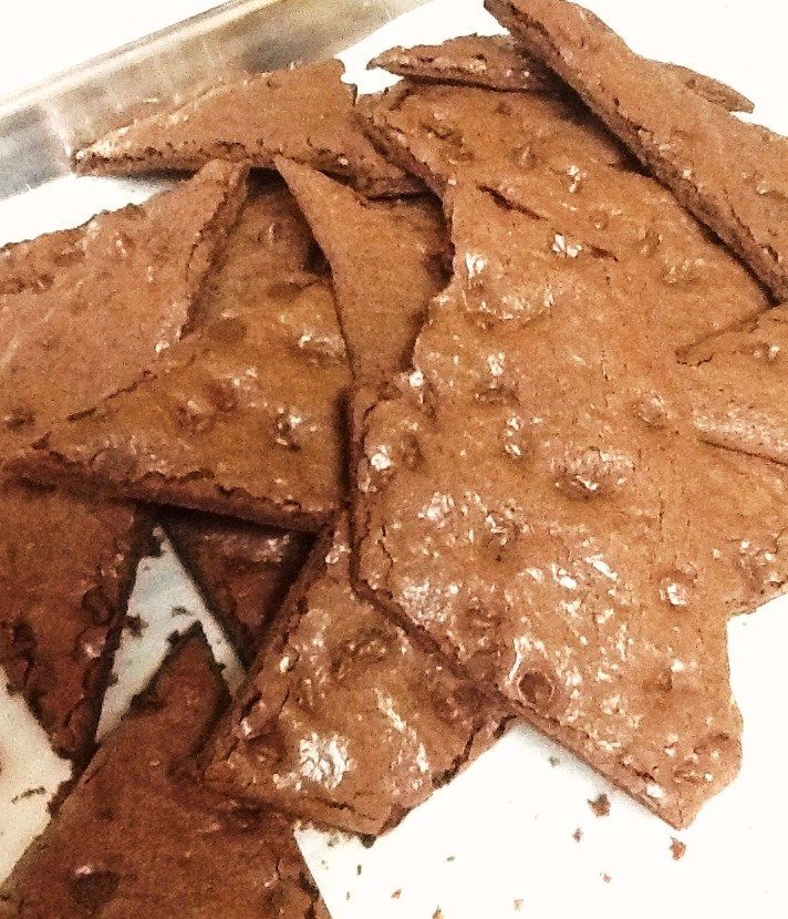 Hi brownie lovers. Awhile back I posted a recipe for Brownie Brittle. I only posted the Quick Brittle recipe, which is made from a boxed mix. But since a few of you requested the scratch recipe, he...