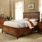 Like this bed - Goes with nautical theme - captain's quarters - Found it at Wayfair - Craftsman Home Storage Panel Bed